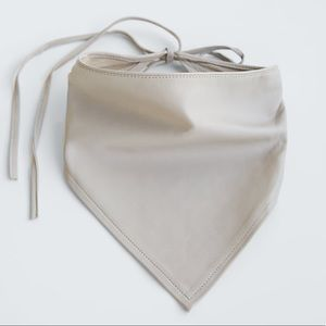 Leather bandana